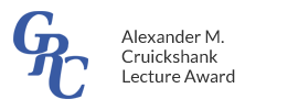 Gordon Research Conferences - Alexander M. Cruickshank Lecture Award