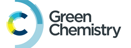 Royal Society of Chemistry - Green Chemistry