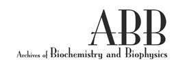Elsevier - Archives of Biochemistry and Biophysics (ABB)