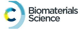 Royal Society of Chemistry - Biomaterials Science