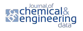 American Chemical Society - Journal of Chemical & Engineering Data