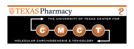 University of Texas at Austin - Center for Molecular Carcinogenesis and Toxicology (CMCT)