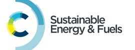 Royal Society of Chemistry - Sustainable Energy & Fuels