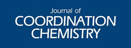 Taylor & Francis - Journal of Coordination Chemistry