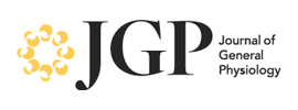 The Rockefeller University Press - The Journal of General Physiology