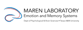 Texas A&M University - Emotion and Memory Systems Laboratory (Maren Laboratory)